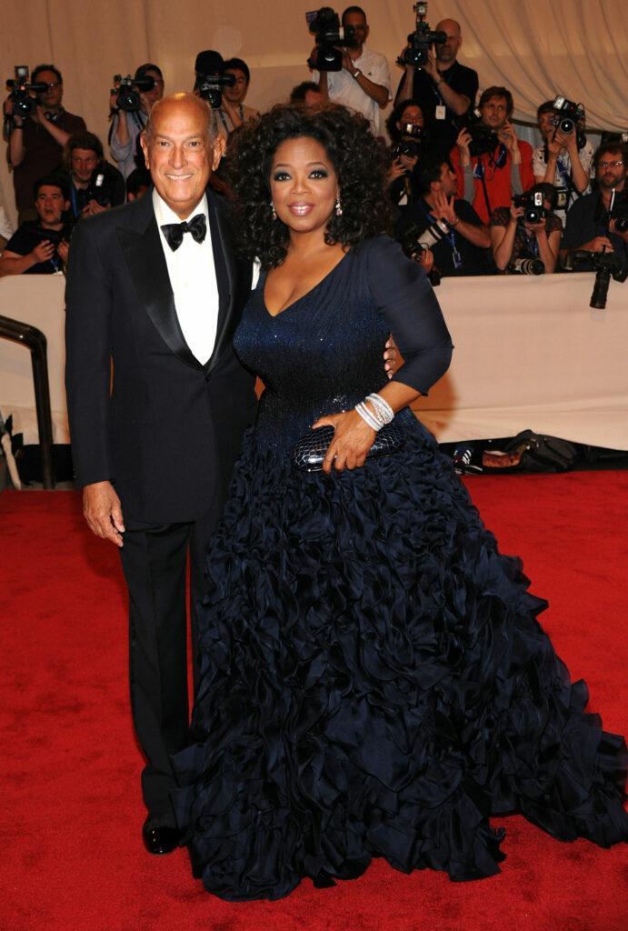 Oscar de la Renta & Oprah Winfrey in 2010