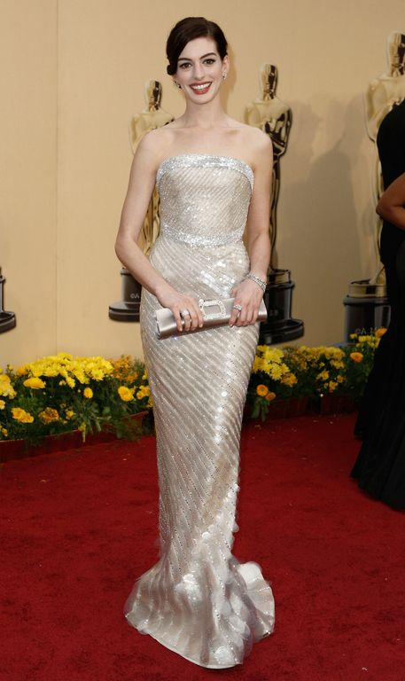 Anne Hathaway Oscars 2009. I#39;m really liking Anne