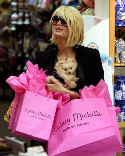 Paris Hilton Shopping
