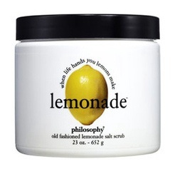 Philosophy Lemonade Scrub