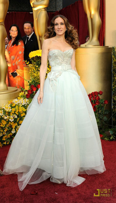 SJP at the 2009 Oscars