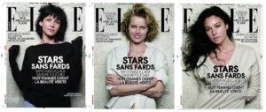 Monica, Eva, Sophie French Elle cover