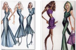 Susan Di Staulo Fashion Illustrations