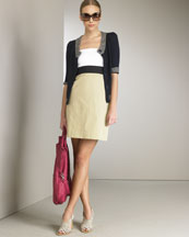 theory-cardigan_colorblock_dress