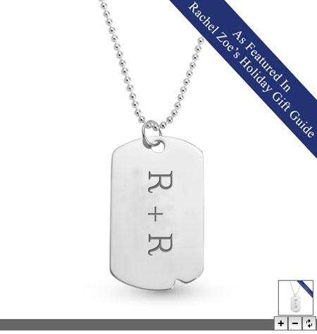 Things Remembered Sterling Silver Dog Tags