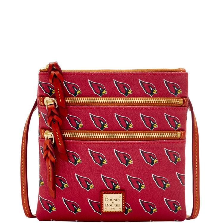 Cardinals Triple Zip Crossbody, $128