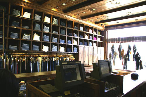 Sneak Peak inside the True Religion Brand Store