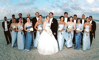 Matching bridesmaids dresses? Veils?