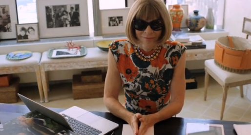 Watch Anna Wintour Talk Tennis, Selfies & (of course) Fashion