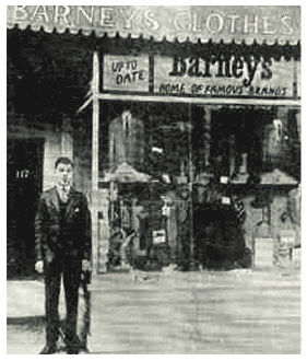 The very first Barneys