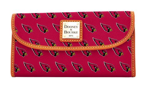 Cardinals Continental Clutch, $128