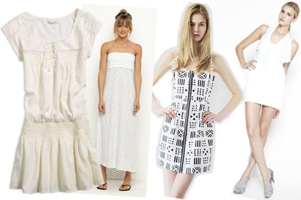 One Dozen White Summer Dresses!