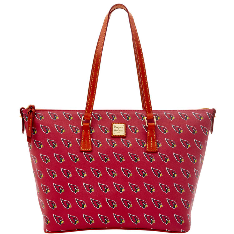 Cardinals Zip Top Shopper, $248