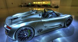 Porsche Inventing the Market For the Hybrid Super Car