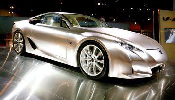 The New Lexus LFA is a Concept Super Sport Car Built For The Street