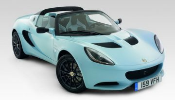 Lotus Elise Club Racer is a LightWeight Highway Jet