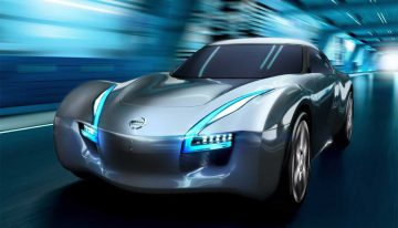 Nissan Esflow Concept Car Offers Phoenix Arizona High Peformance at Zero Emmisions