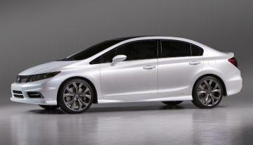 2012 Re-conceptualized Honda Civic Unveiled at Detroit Auto Show