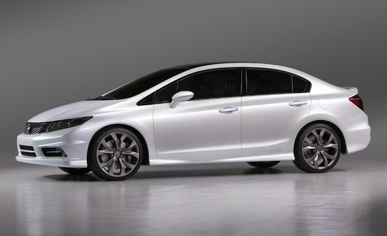 2012 Re-conceptualized Honda Civic Unveiled at Detroit Auto Show