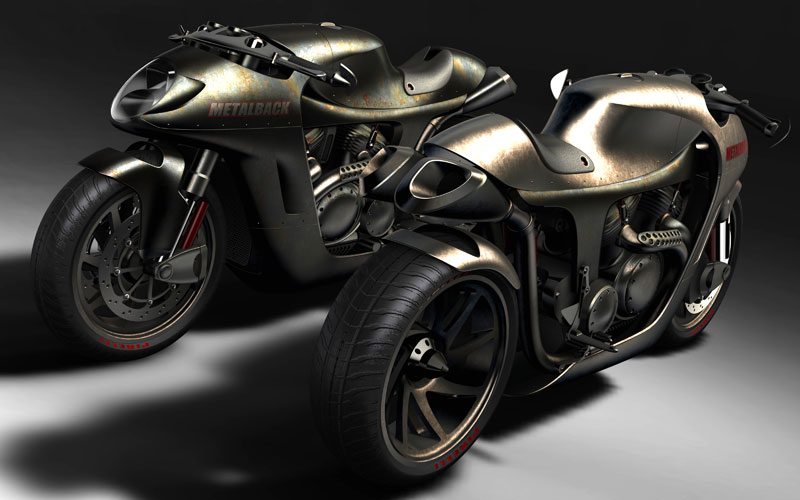 Metalback Cafe Racer is the Motorcycle of the Future
