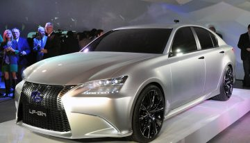Lexus Steps Into the Future with the LF-Gh