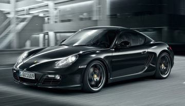 2012 Porsche Cayman S Black Edition Brings Out the Darker Side