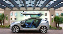 Hyundai Offers a Sci-Fi Styled SUV with Hybrid Mileage