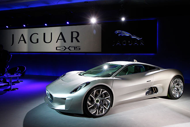 $1.1M Jaguar C-X75 Hybrid Supercar Gets Green Light