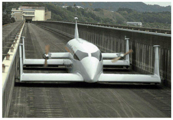 Flying Hover-Trains May Be the Future of Mass Transit