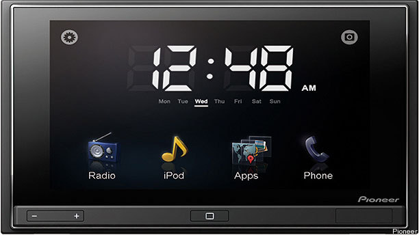 Pioneer AppRadio Built for iPhone/Car Integration