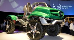 60th Anniversary Unimog Concept Amphibious Inspired