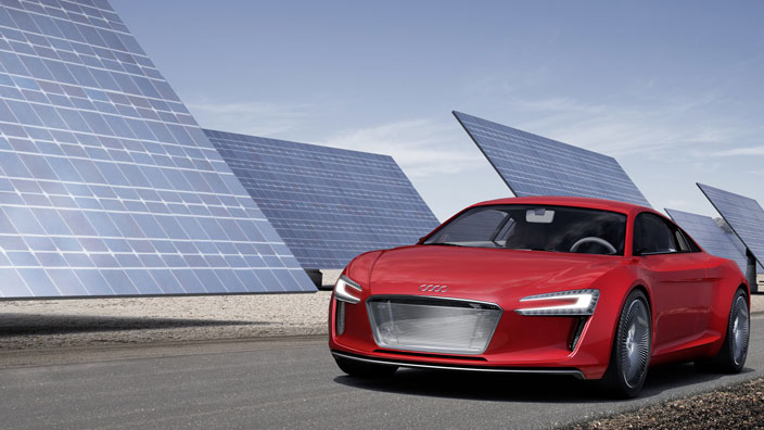 Audi E-Tron Concept Pushes Torque on Four Electric Motors