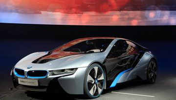 BMW i8 Concept Heralds a New Space Age Style of Design
