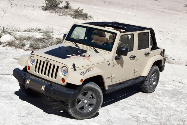 Desert Dwelling SUVs Improve Fuel Economy