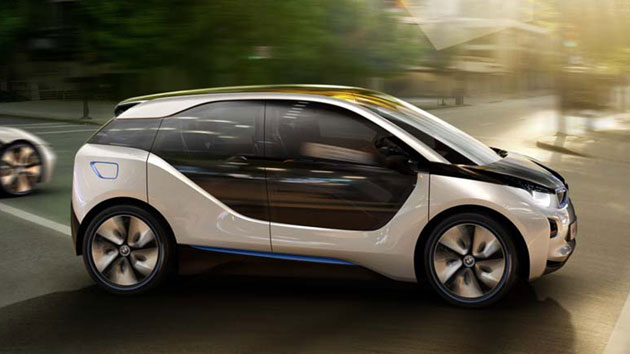 BMW i3 Concept Leads Us Into the Future
