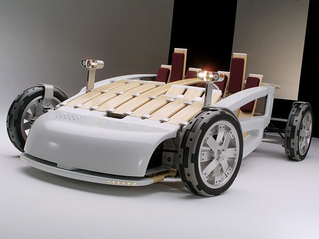 Bamboo Vehicle Only Makes Sense