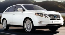 Lexus RX Hybrid is Tri-Perfection