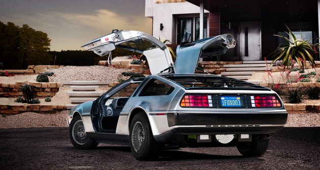 DeLorean DMC 12-EV is Back for the Future