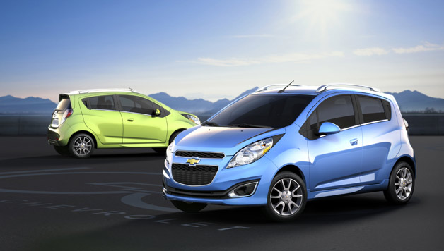 Chevy Spark vs. Prius C At LA Auto Show