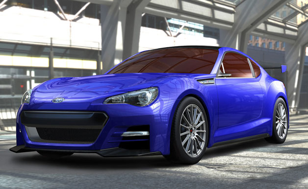 Subaru BRZ Concept to Debut at LA Auto Show