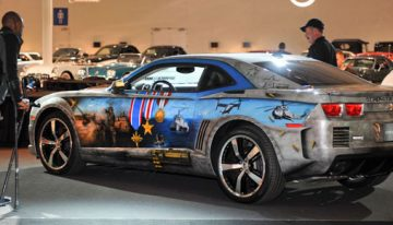 Barrett Jackson to Auction off Custom Camaro for Disabled Veterans