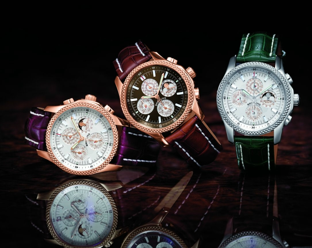 Bentley Partners With Luxury Swiss Watchmaker