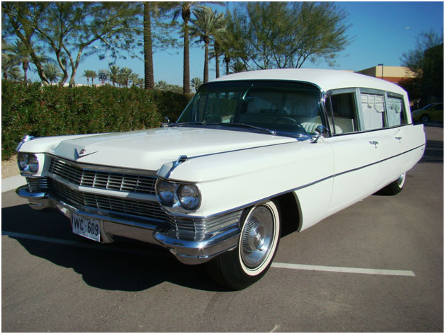 JFK Hearse up for Auction at Barrett Jackson Next Month