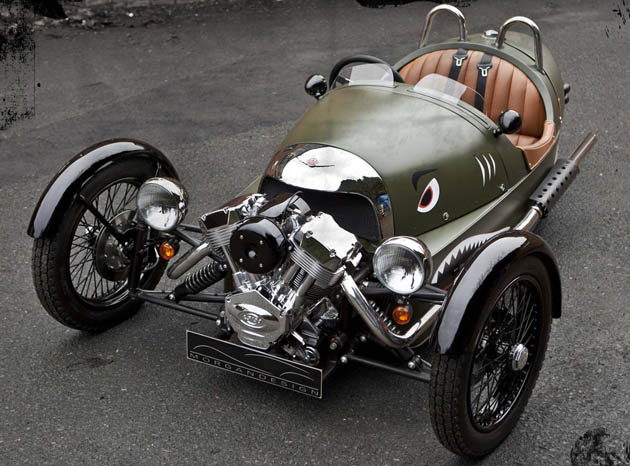 Morgan Threewheeler Offers Drive Like No Other