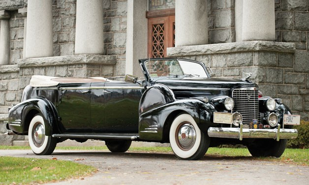 FDR's Car Up for Auction at the Biltmore