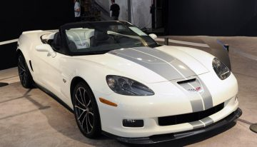 World Premier 427 Corvette up for Auction in Scottsdale