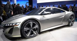 Acura NSX Concept Leads the Way in Detroit