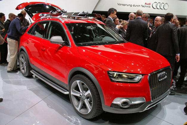 Audi Debuts Winter Themed Luxury Q3 Crossover