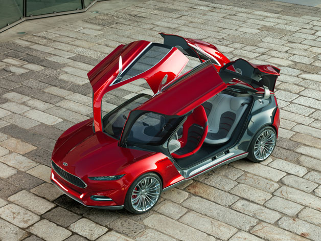 Ford Debuting Future of the Car at CES