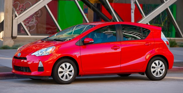 Prius C: Best Gas Mileage, Best Parking, Best Pricetag